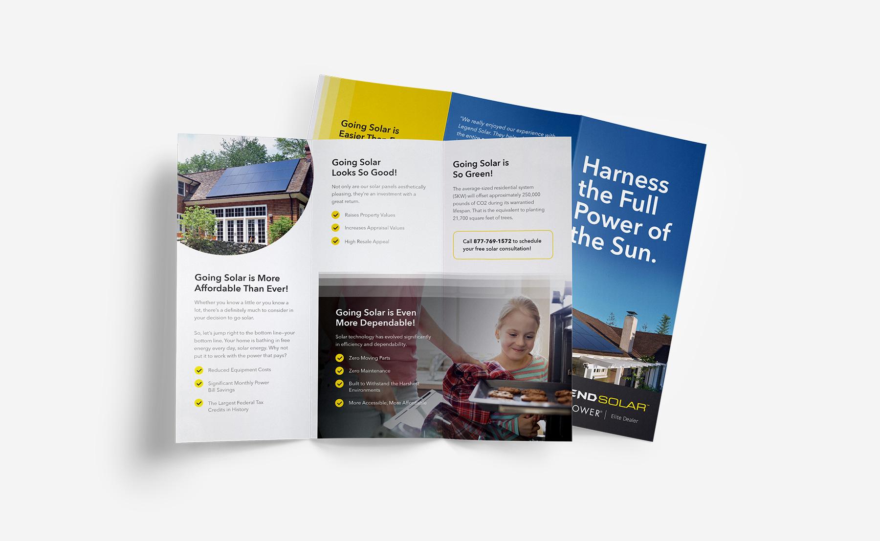 Legend Solar brochure picture