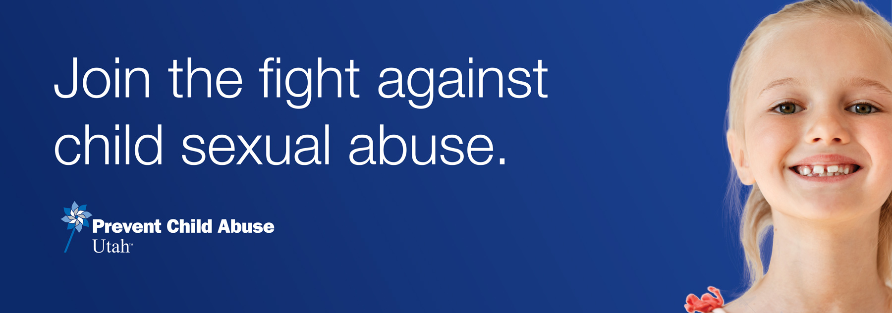 Join the fight against child sexual abuse