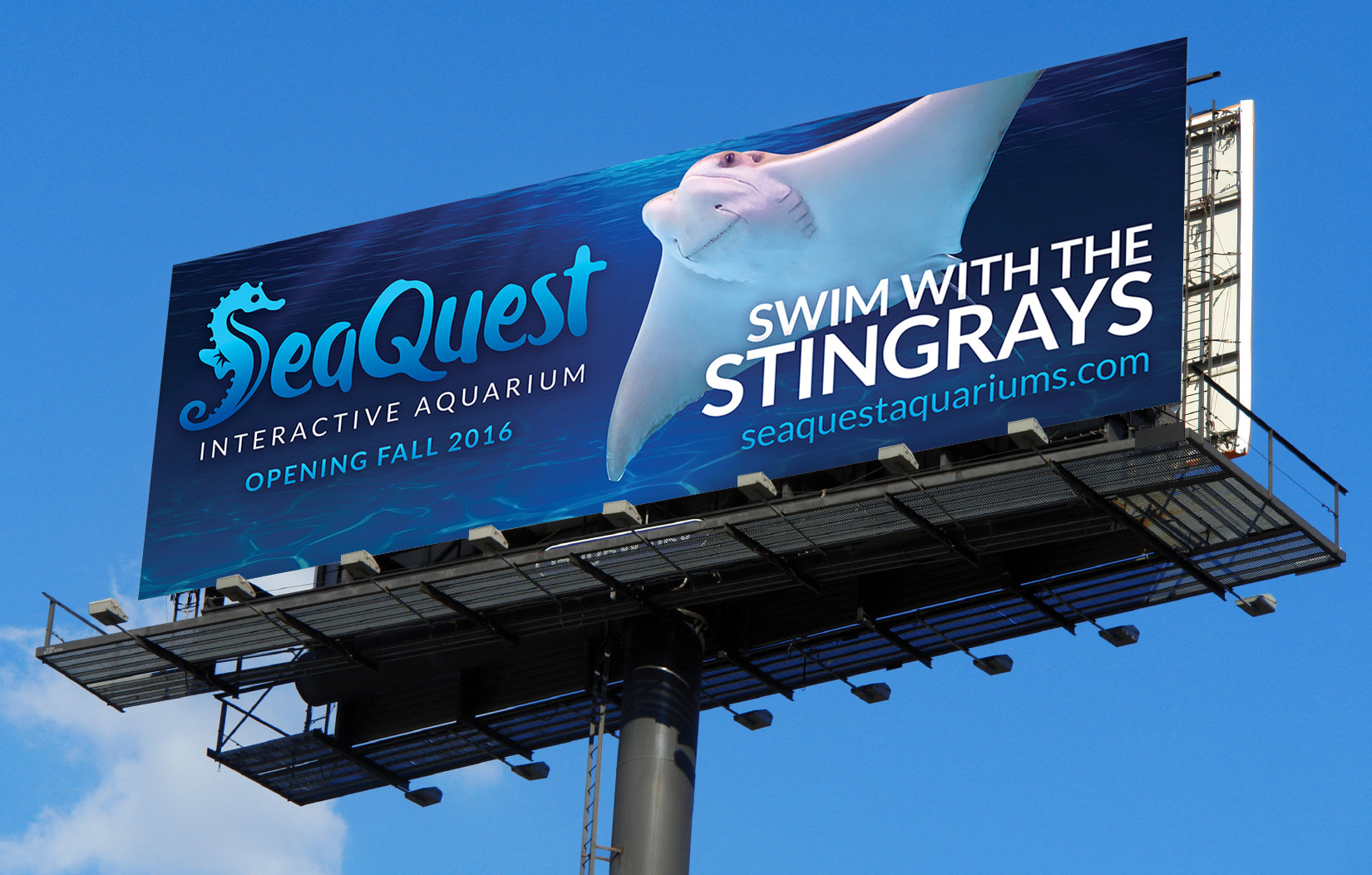 SeaQuest billboard