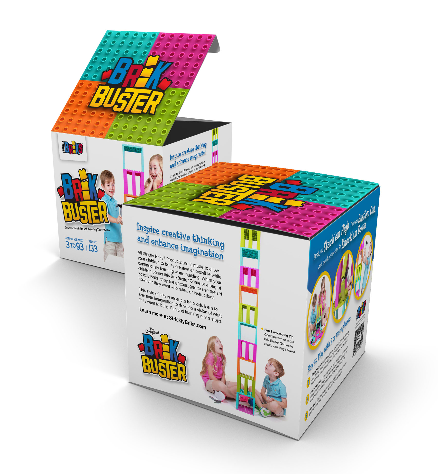 Strictly Briks Brik Buster product packaging