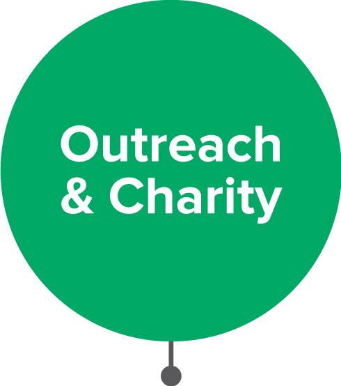 Outreach & Charity icon