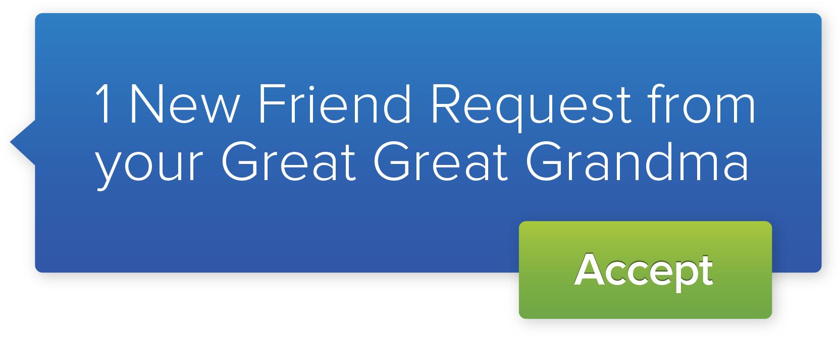 FamilySearch Friend Request
