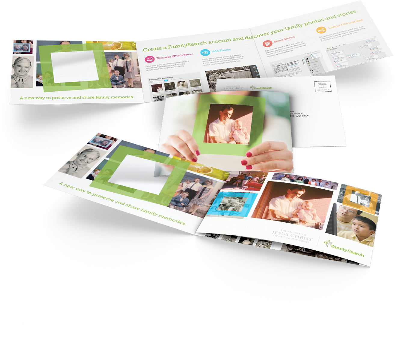 FamilySearch Mailer