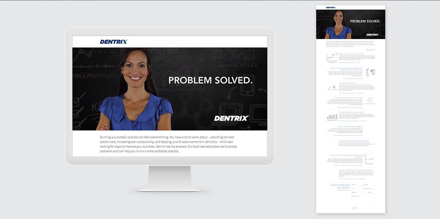Dentrix website screenshots
