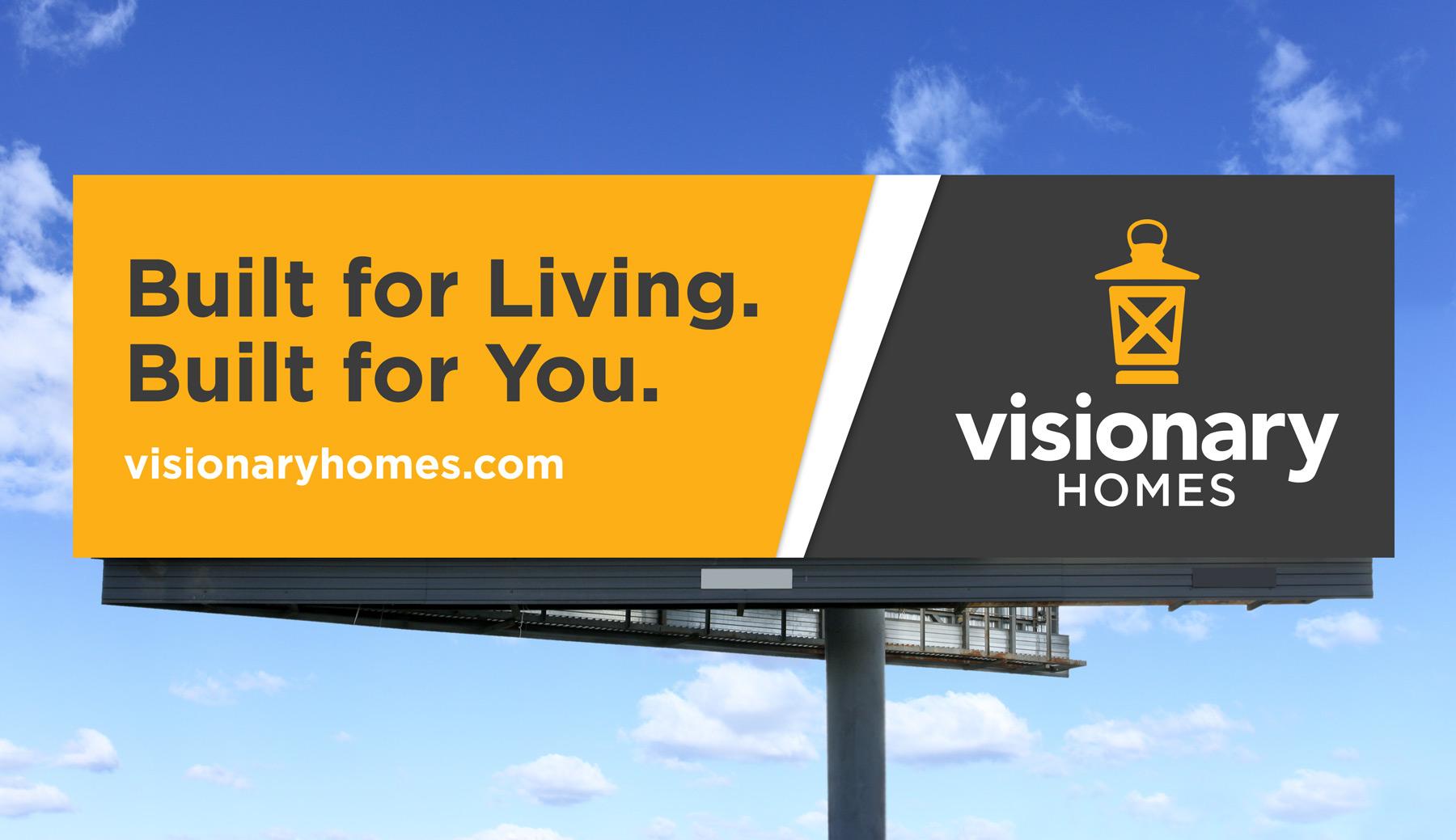 Visionary Homes Billboard