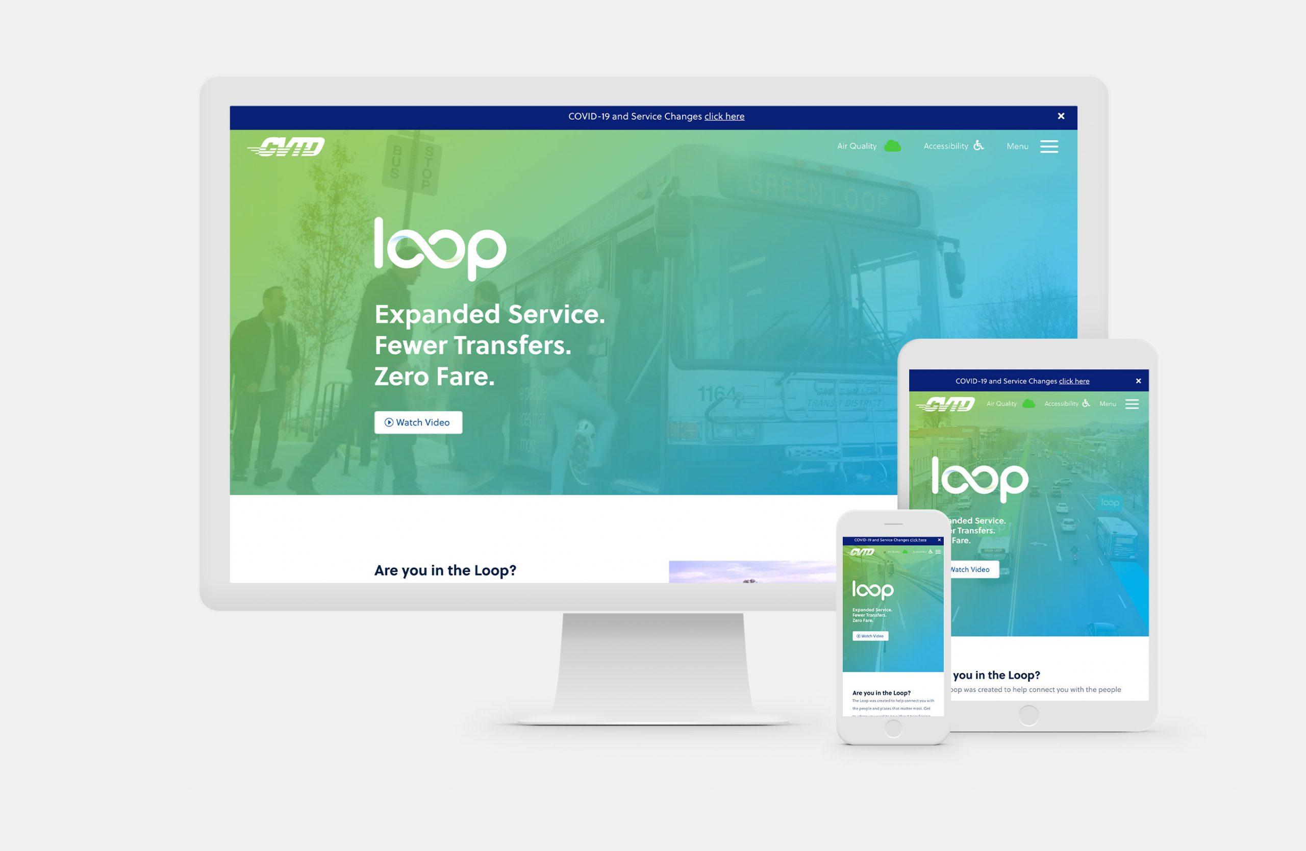 Legend Solar website on different device screens