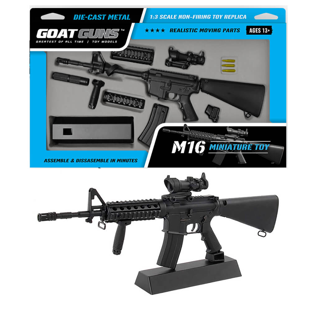 Toy M 16 Packaging